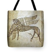 Book Of Durrow, C680 A.d Tote Bag