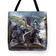 Book Of Fantasies Tote Bag