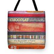 Book Stack II Tote Bag