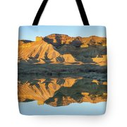 Bookcliffs Reflections Tote Bag