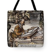 Bookkeeper, 16th Century Tote Bag