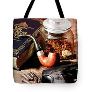 Books And Bullets Tote Bag by Barry Jones