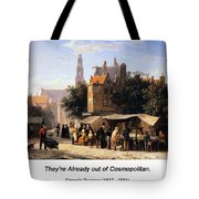Bookstall On The Noordermark Tote Bag