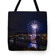 Fireworks In Beaver County  Tote Bag