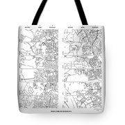 Boonies, Burbs And Boutiques Of Pi Tote Bag