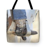 Boot And Spur Tote Bag