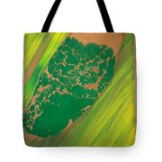 Boot Top In A See Of Grass Tote Bag