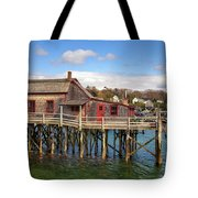 Boothbay Harbor 02287 Tote Bag