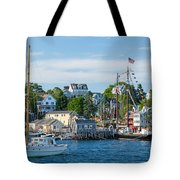 Boothbay Harbor Tote Bag
