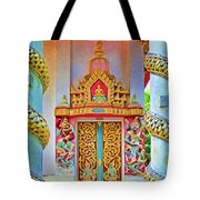 Bophut Temple In Thailand Tote Bag