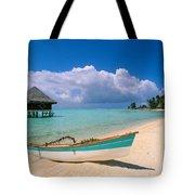 Bora Bora, Hotel Moana Tote Bag by Greg Vaughn - Printscapes