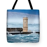 Bora  Senj, Croatia Tote Bag