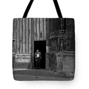 Bordeaux Church Door Tote Bag
