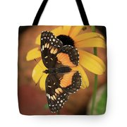 Bordered Patch Tote Bag