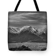 Boreas Mountain And Siblings Tote Bag