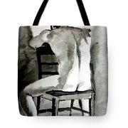 Bored Man Tote Bag