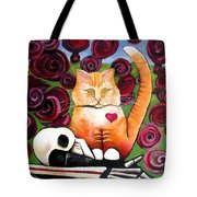 Boris And Me Tote Bag by Delight Worthyn