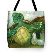 Born For Crawling Will Not Fly Tote Bag