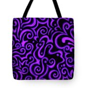 Born In Purple Tote Bag