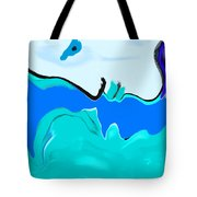 Born Of The Ocean Tote Bag