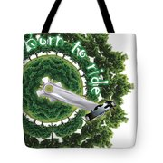 Born To Ride - Poster Tote Bag
