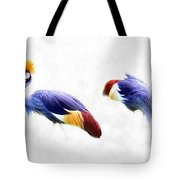 Born With A Crown Minimal Art Tote Bag by Isabella Howard