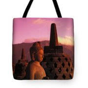 Borobudor Temple Tote Bag