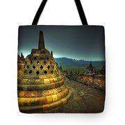 Borobudur Temple Central Java Tote Bag