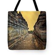 Borobudur Temple Tote Bag