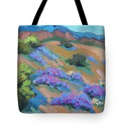 Borrego Springs Verbena Tote Bag