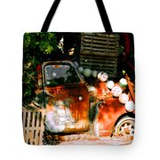B.o.'s Fish Wagon In Key West Tote Bag