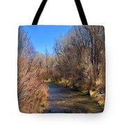 Bosque De Rio De Taos Tote Bag