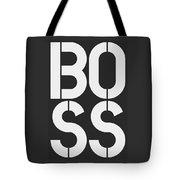 Boss-1 Tote Bag
