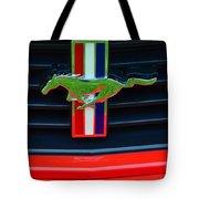 Boss 302 Ford Mustang Emblem Tote Bag