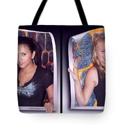 Bossom Buddies - Gently Cross Your Eyes And Focus On The Middle Image Tote Bag