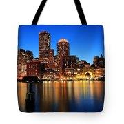 Boston Aglow Tote Bag