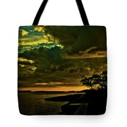 Boston Bay Sunrise Tote Bag