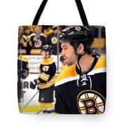 Boston Bruin Adam Mcquaid Tote Bag
