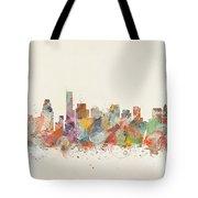 Boston City Tote Bag