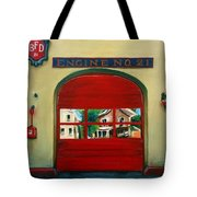 Boston Fire Engine 21 Tote Bag