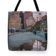 Boston From Long Wharf Tote Bag