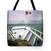 Boston Harbor Cruise  Tote Bag