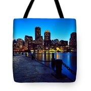 Boston Harbor Walk Tote Bag