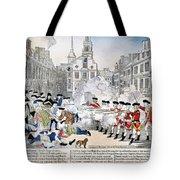 Boston Massacre, 1770 Tote Bag