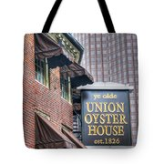 Boston Old And New Tote Bag