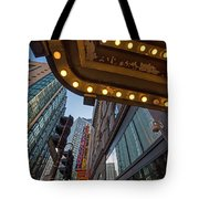 Boston Paramount Theater District Tote Bag