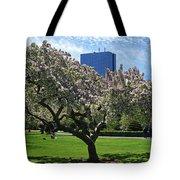 Boston Public Garden Spring Tree Boston Ma Tote Bag