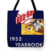 Boston Red Sox 1952 Yearbook Tote Bag