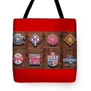 Boston Red Sox World Series Emblems Tote Bag