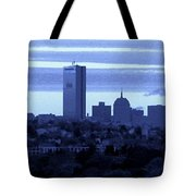 Boston Skyline From Quincy Tote Bag